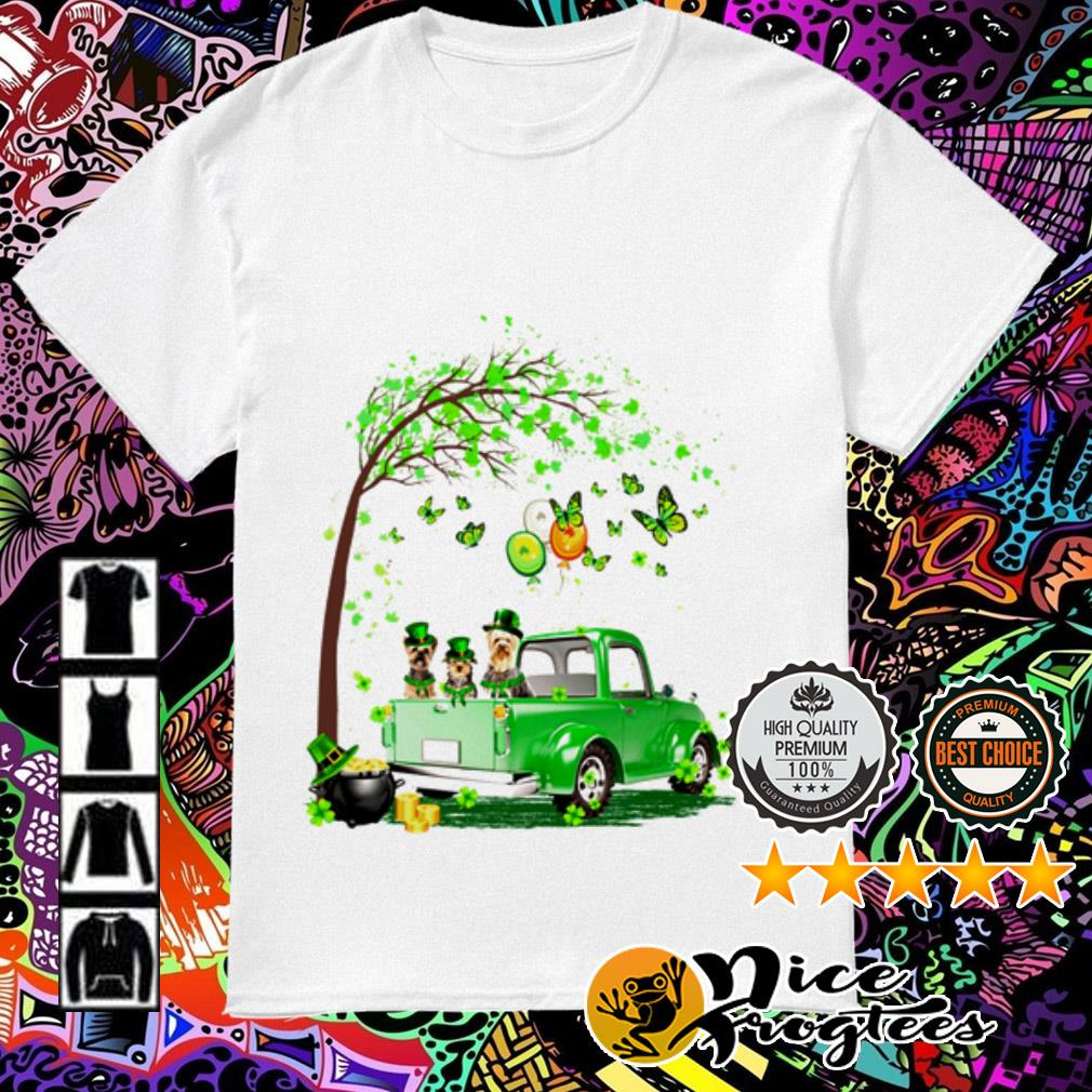 Yorkshire Terrier Truck St Patrick's Day shirt