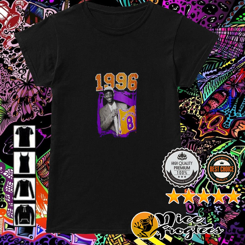 1996 Black Mamba Kobe Bryant Los Angeles Lakers Ladies Tee