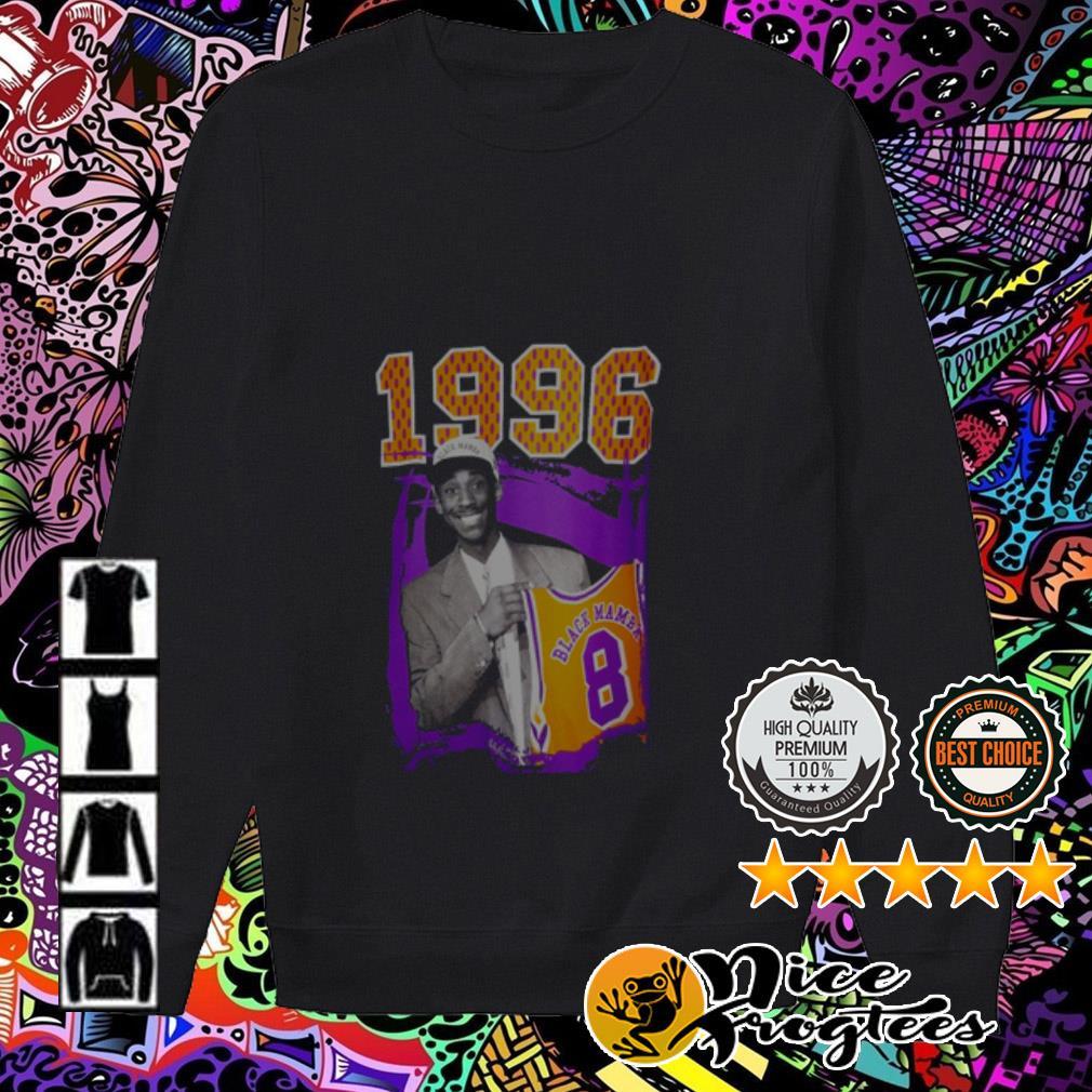 1996 Black Mamba Kobe Bryant Los Angeles Lakers Sweater