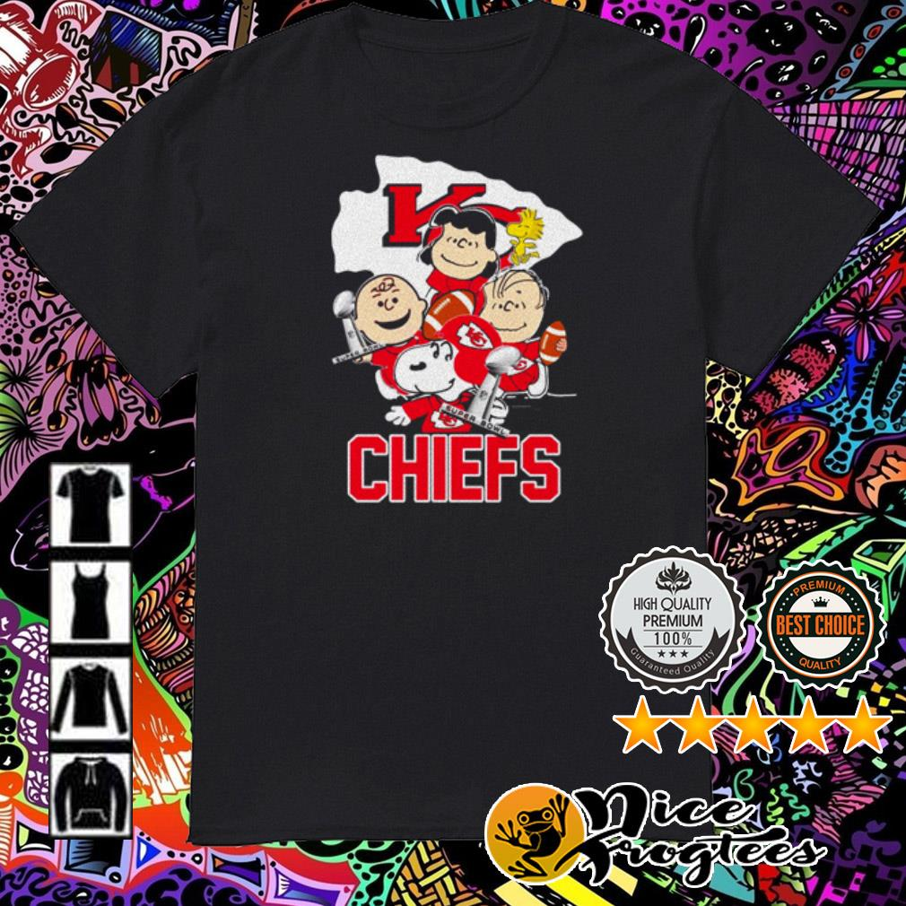 Kansas City Chiefs Charlie Brown and Friends Champions super bowl shirt