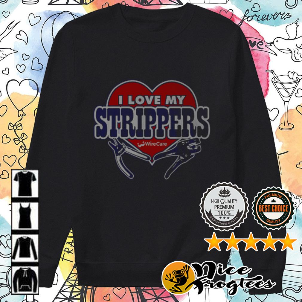 Official I love Strippers shirt