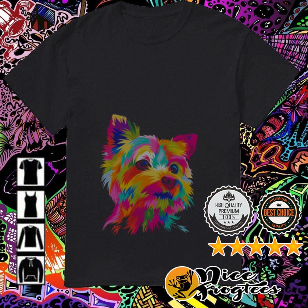 Shih Tzu art LGBT shirt