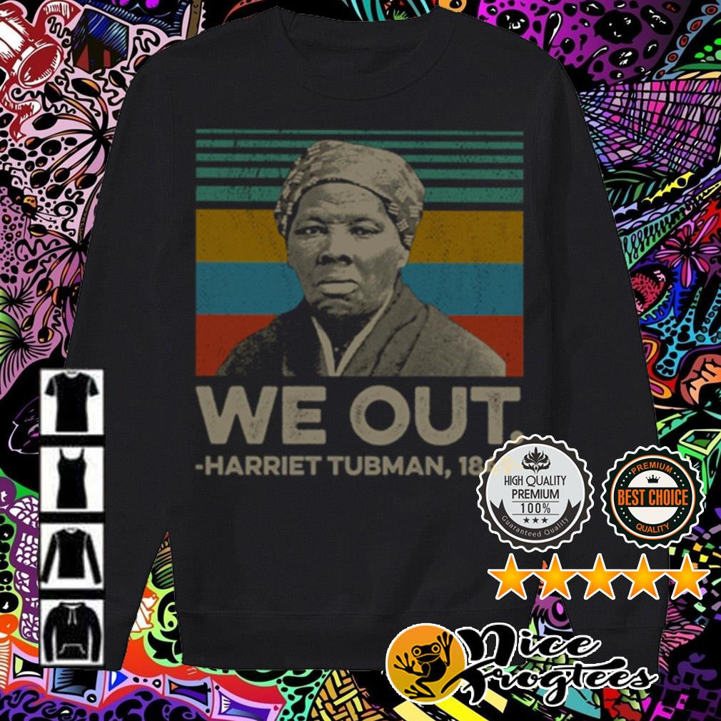 Vintage we out Harriet Tubman 1849 Sweater