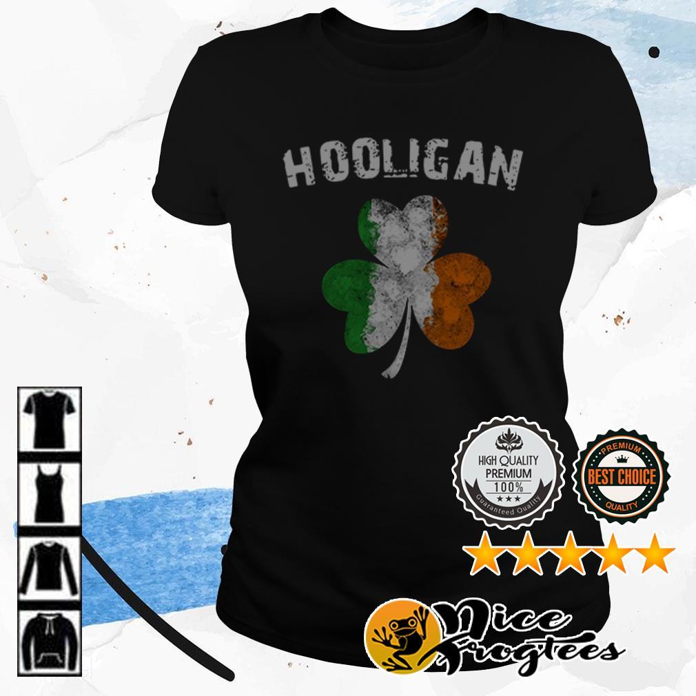 Hooligan Irish Shamrock St. Patrick's Day shirt