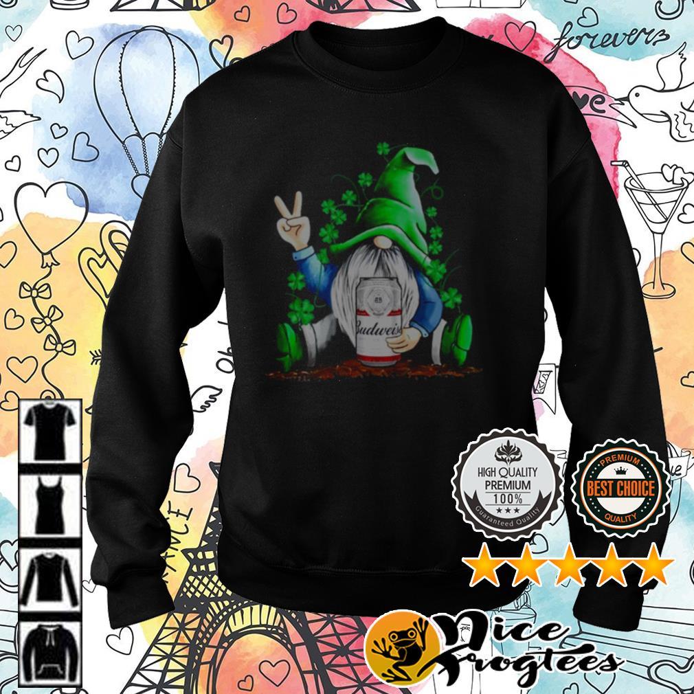 Original Gnomes Hug Budweiser St. Patrick's Day shirt