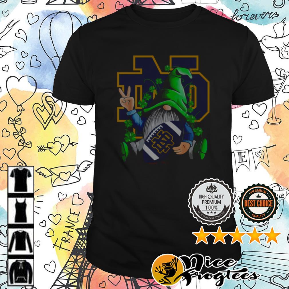 Original Gnomes Hug Notre Dame Fighting Irish St. Patrick's Day shirt