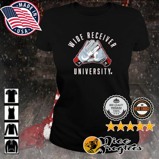 Alabama Crimson Tide wide receiver university s ladies-tee