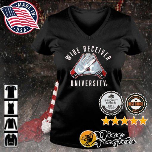Alabama Crimson Tide wide receiver university s v-neck-t-shirt