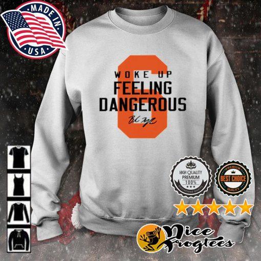 Cleveland Browns 6 Baker Mayfield woke up feeling dangerous s sweater