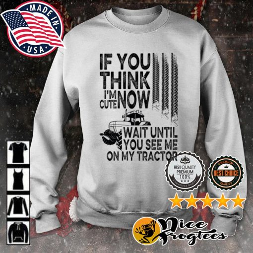 If you think I'm cute now wait until you see me on my tractor s sweater