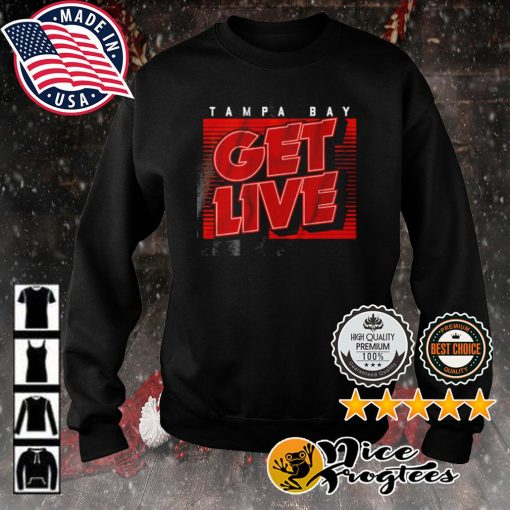 Tampa Bay Get live s sweater