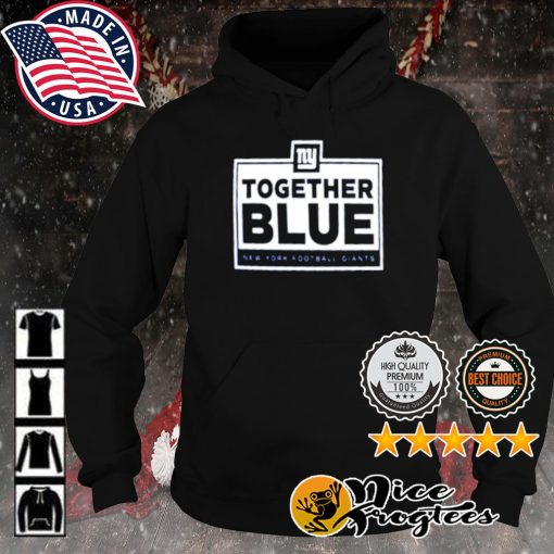 Together blue New York Football Giants s hoodie