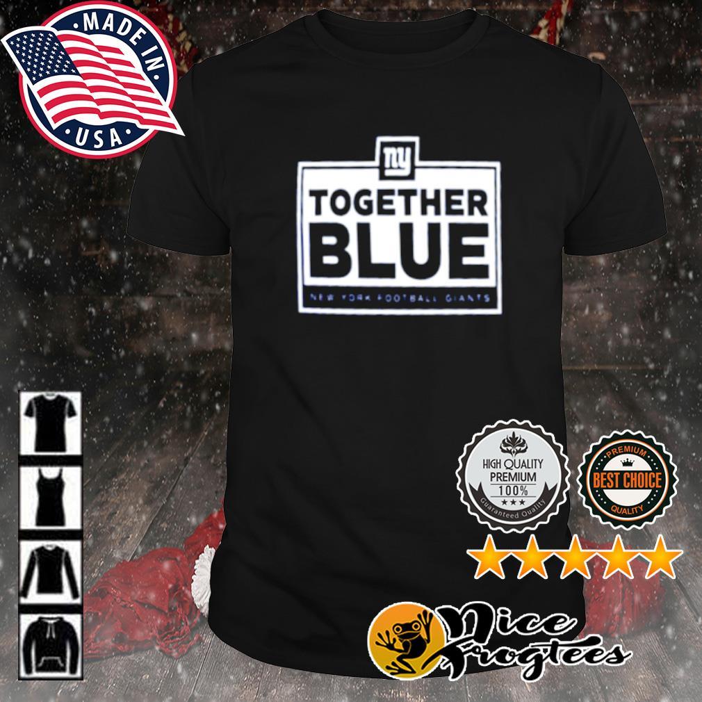Together blue New York Football Giants shirt