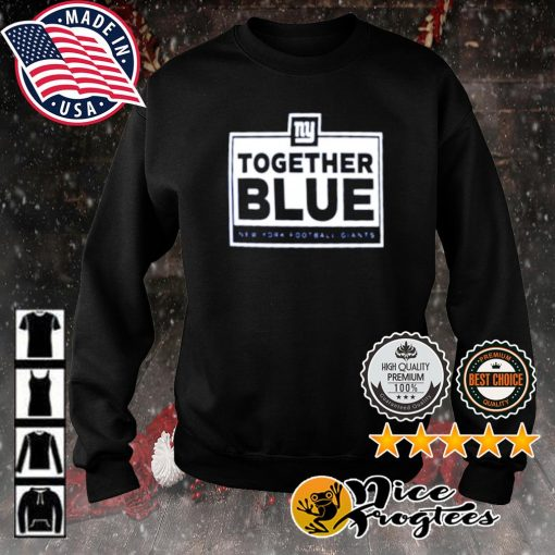 Together blue New York Football Giants s sweater
