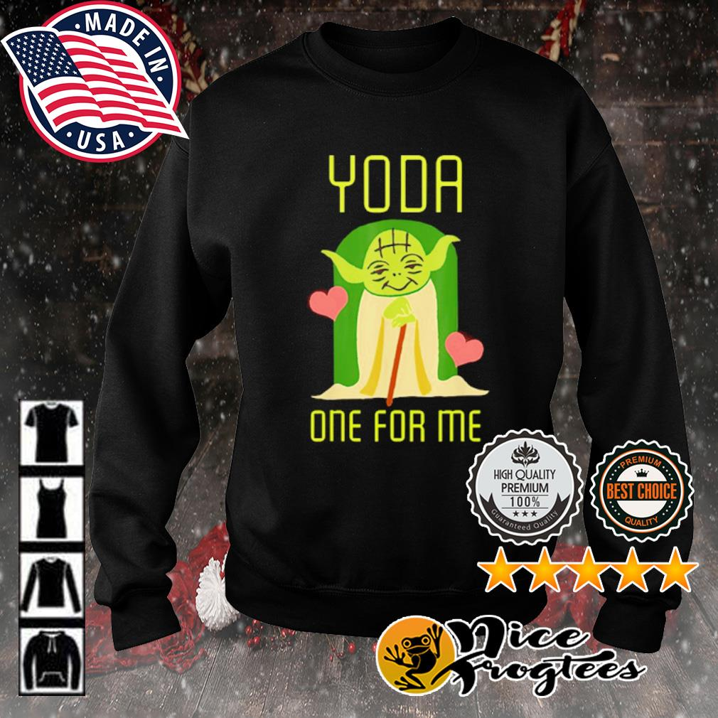Valentine Yoda one for me s sweater
