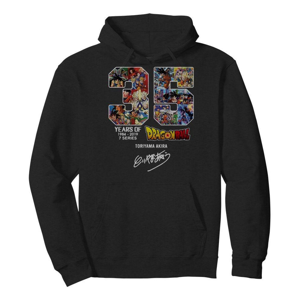 35 Years of Dragon Ball Z 1984-2019 7 series Toriyama Akira Hoodie