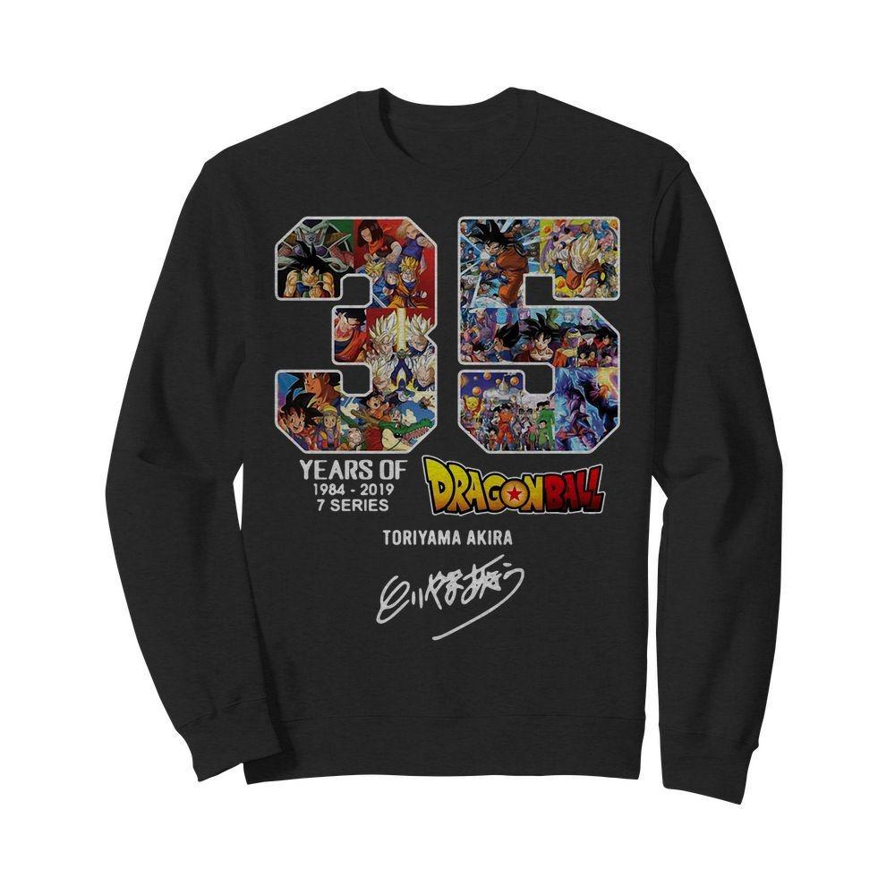 35 Years of Dragon Ball Z 1984-2019 7 series Toriyama Akira Sweater