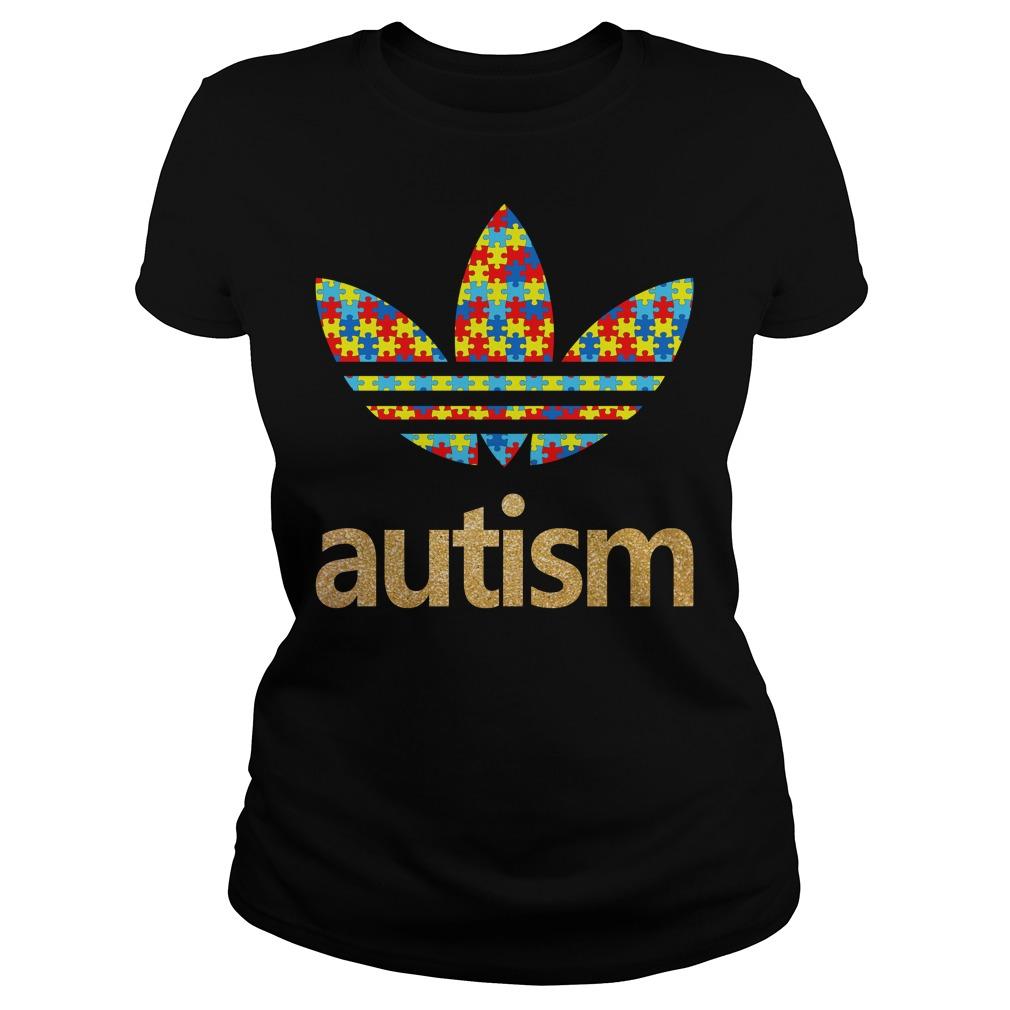 Adidas autism Ladies tee