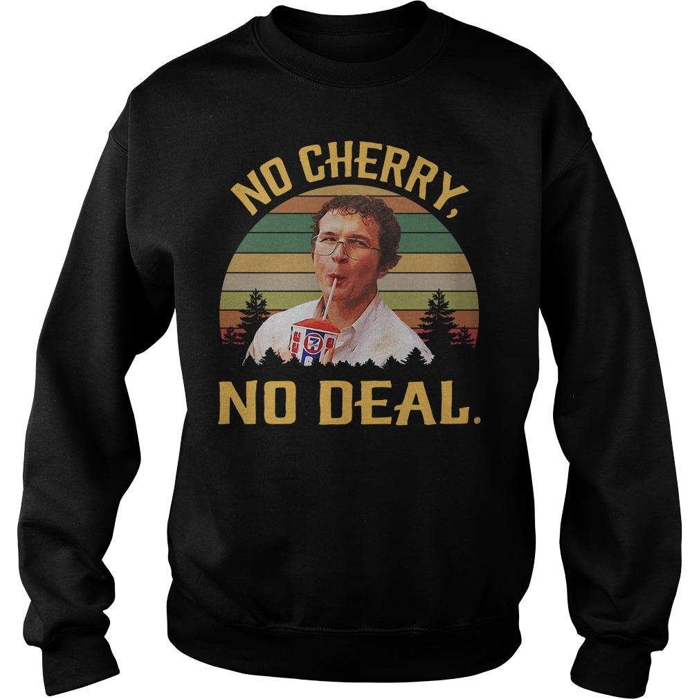 Alexei No cherry no deal vintage Sweater