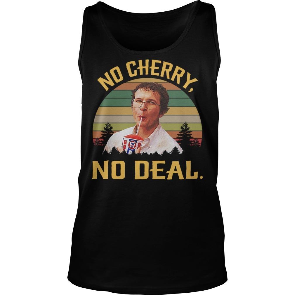 Alexei No cherry no deal vintage Tank top