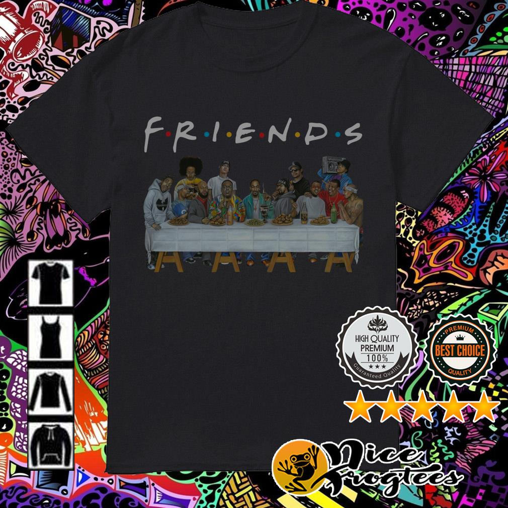 American rappers Friends TV show shirt