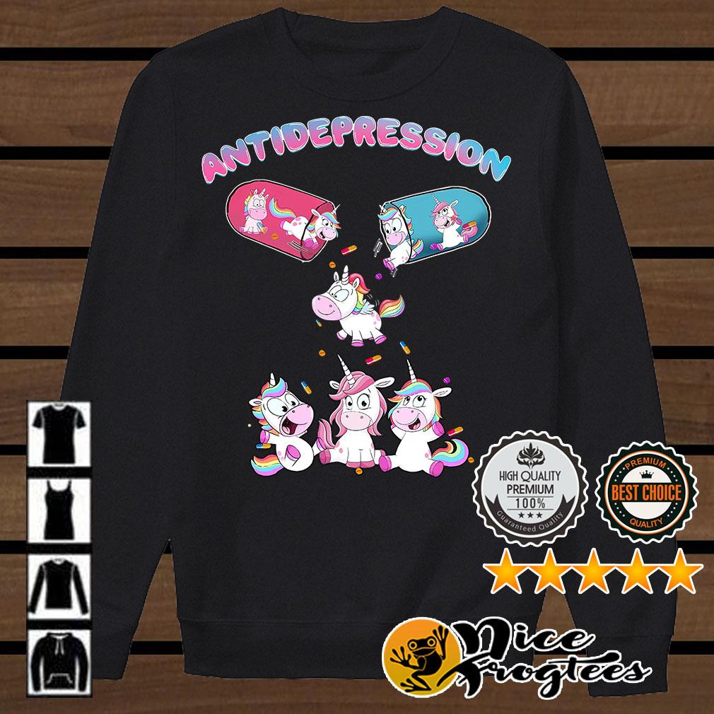 Antidepressant Unicorn shirt