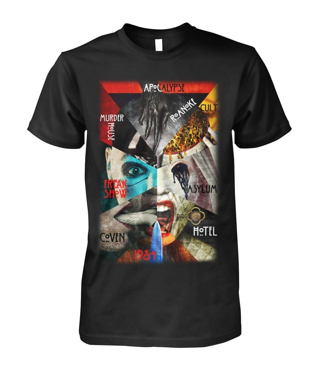 Apocalypse Roanoke Cult Murder House Freak Show Asylum Coven 1984 shirt