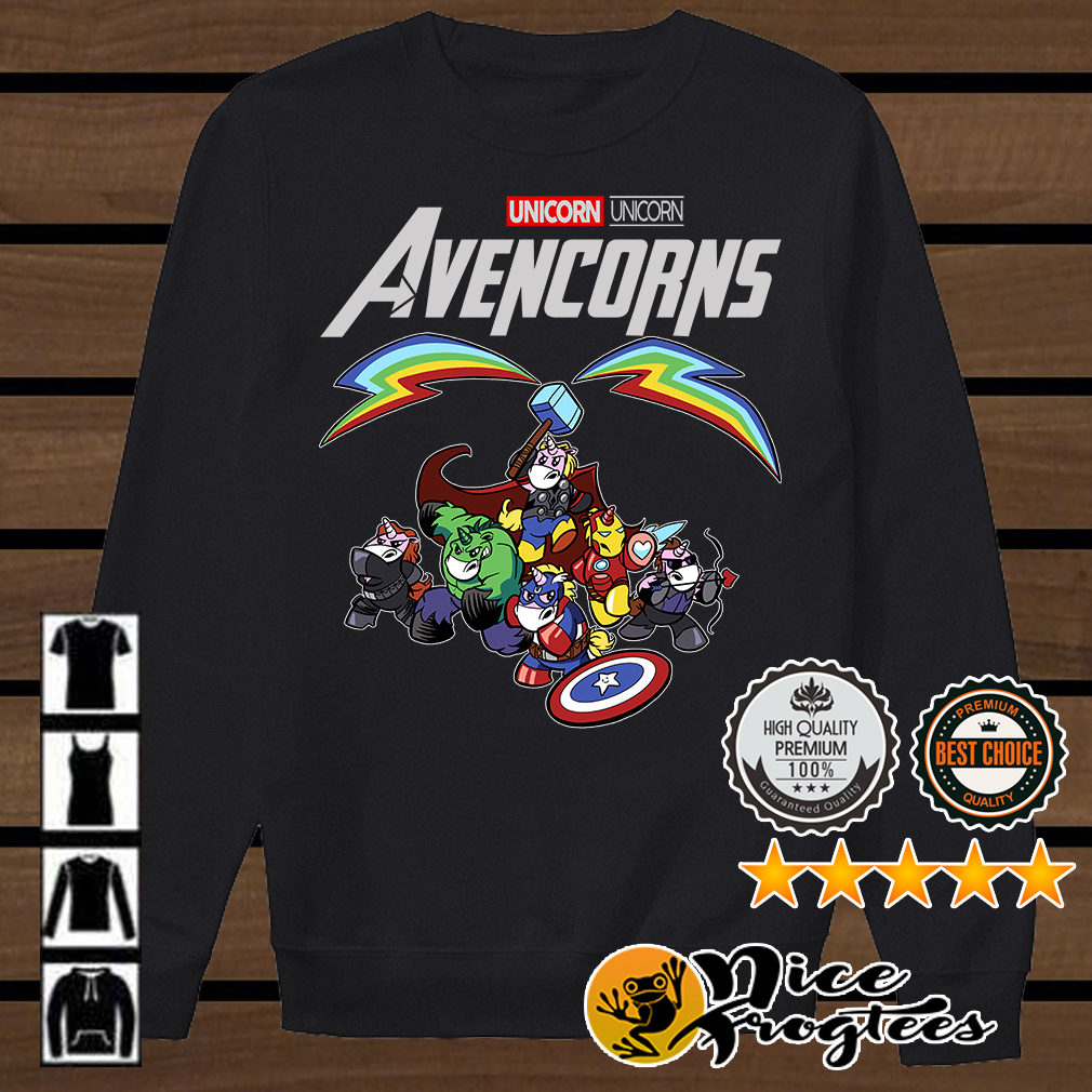 Avencorns Unicorn Marvel Avengers shirt