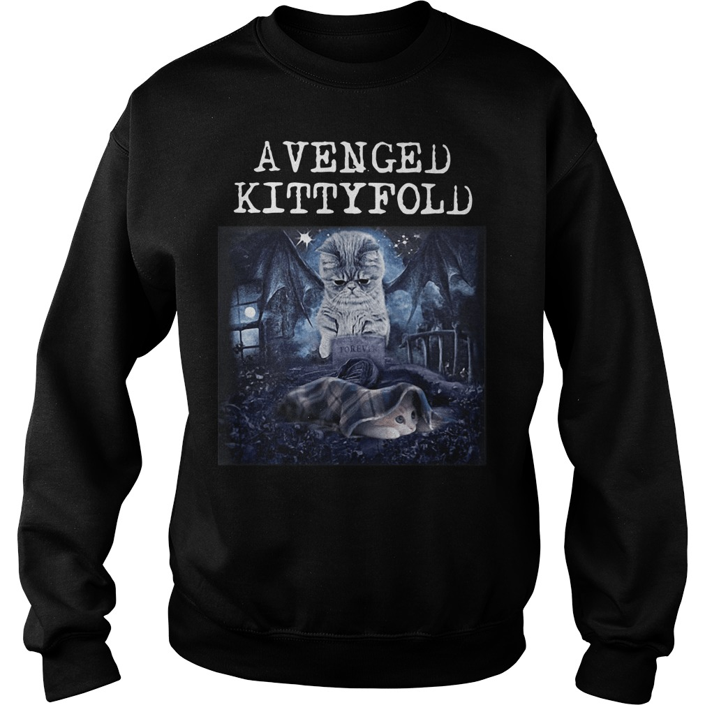 Avenged Kittyfold Welcome to the Family Avenged Sevenfold Sweater