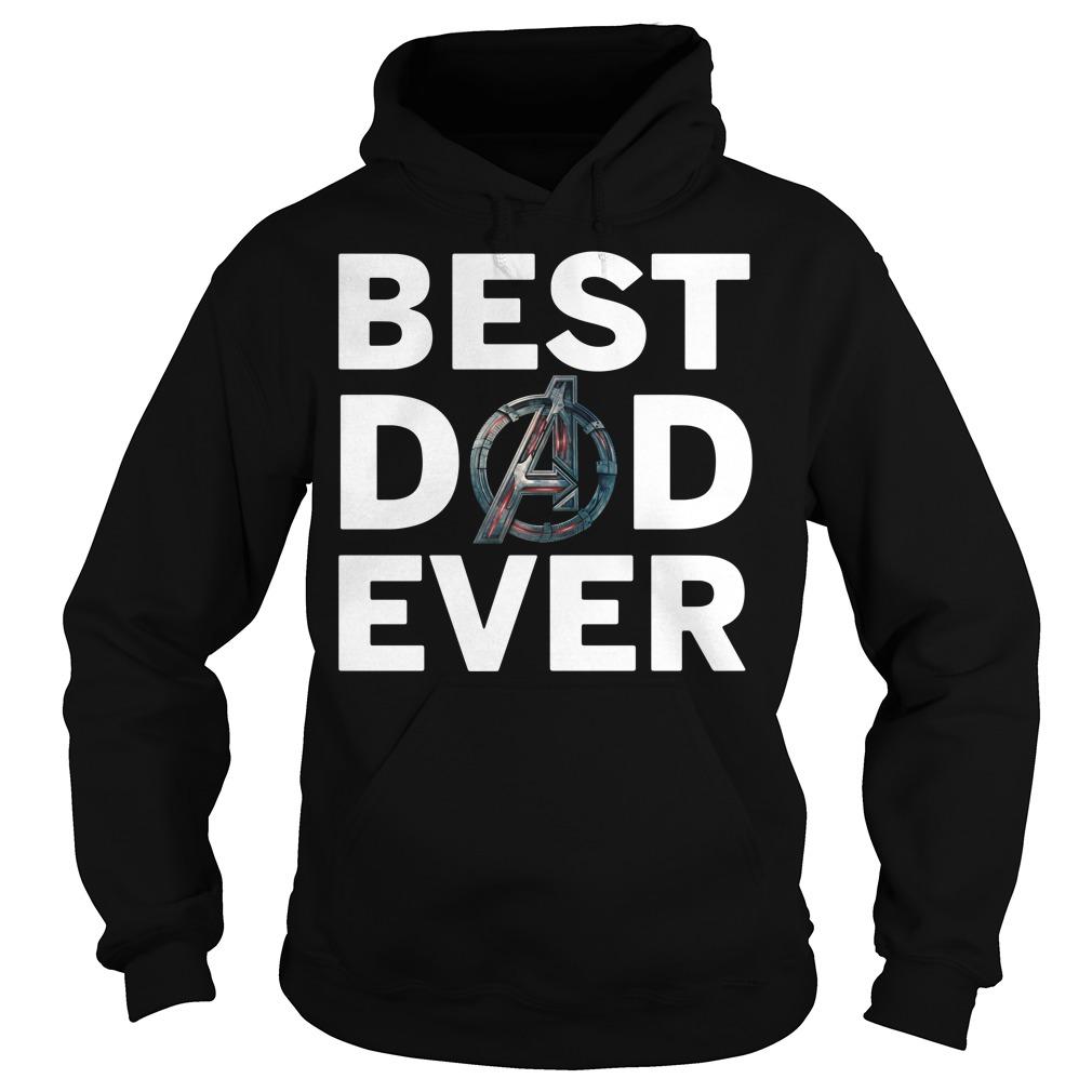 Avengers best dad ever Hoodie