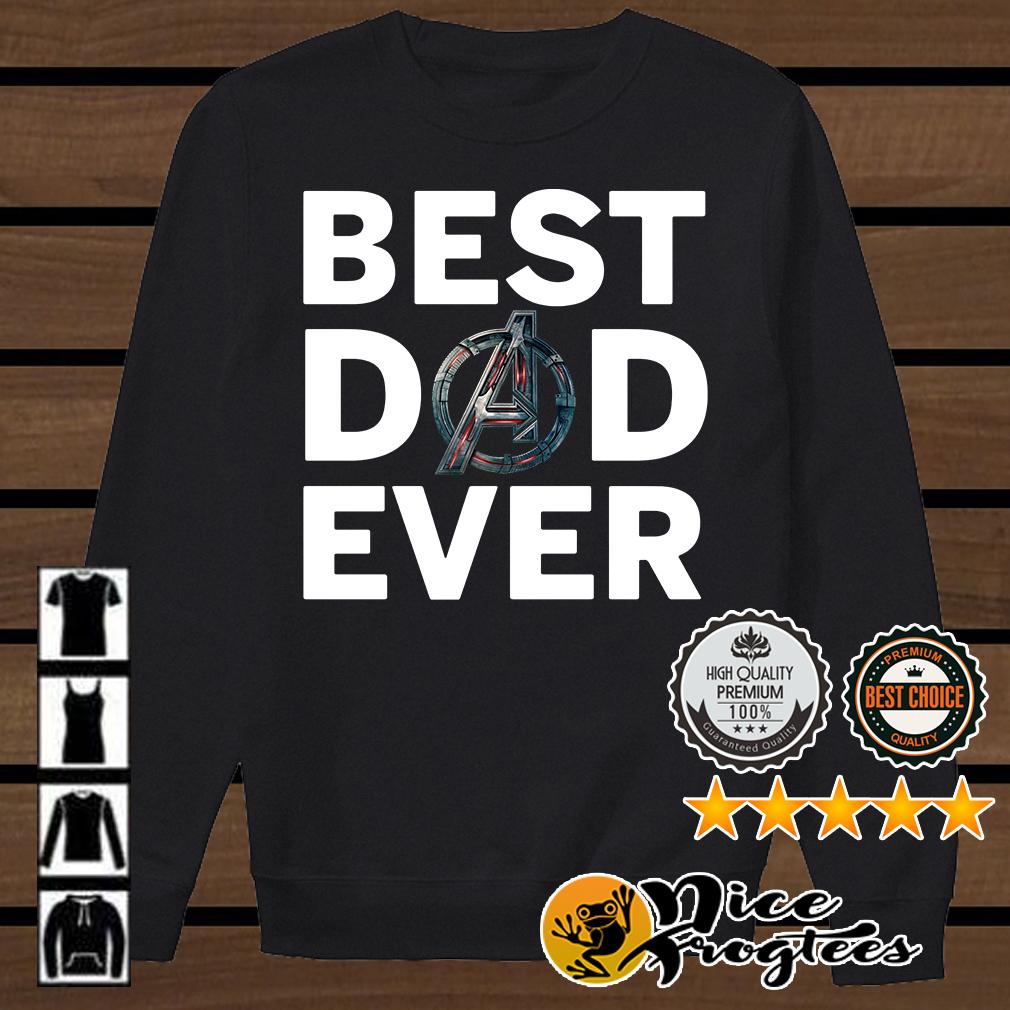 Avengers best dad ever shirt