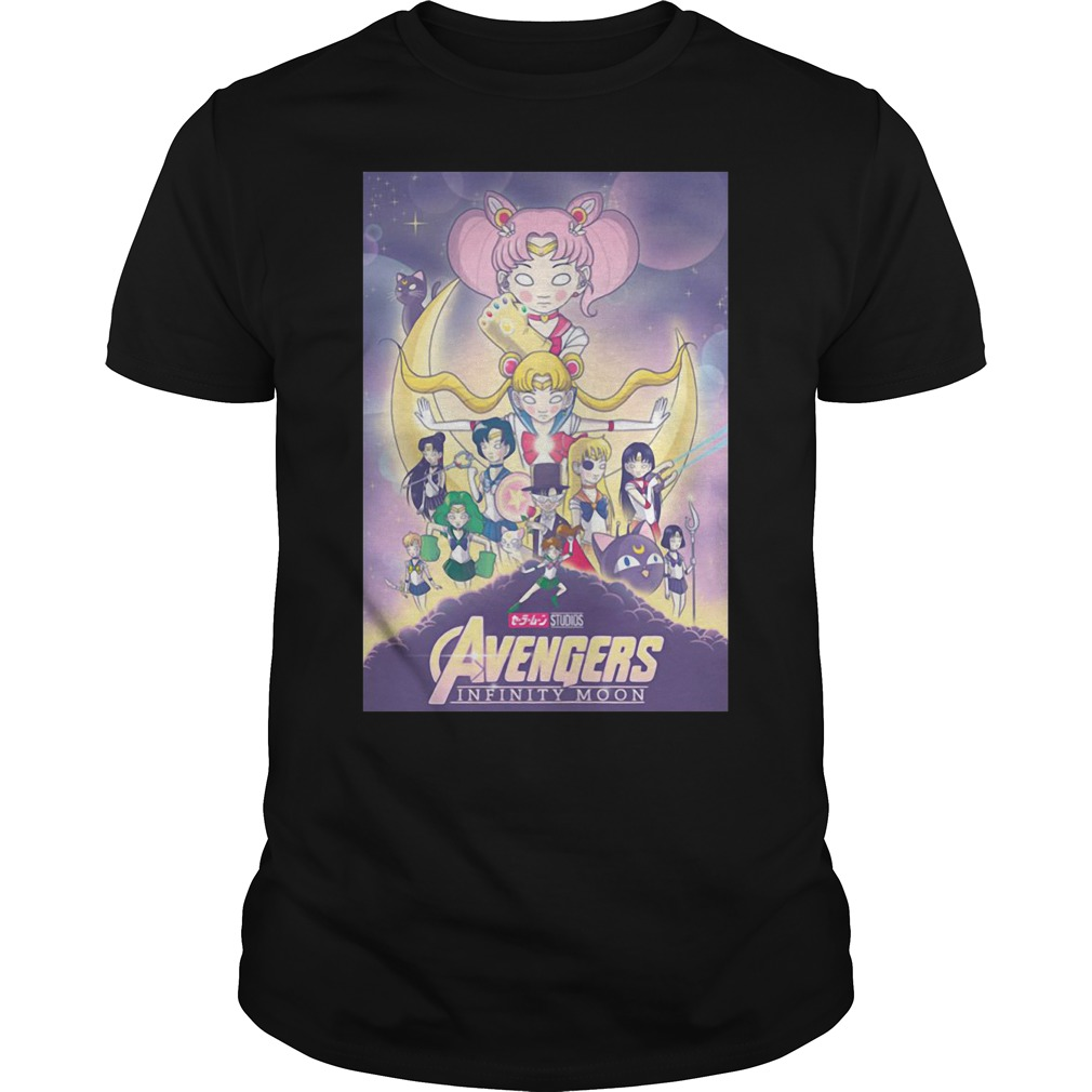 Avengers – Infinity War and Sailor Moon Mashup Guys shirt