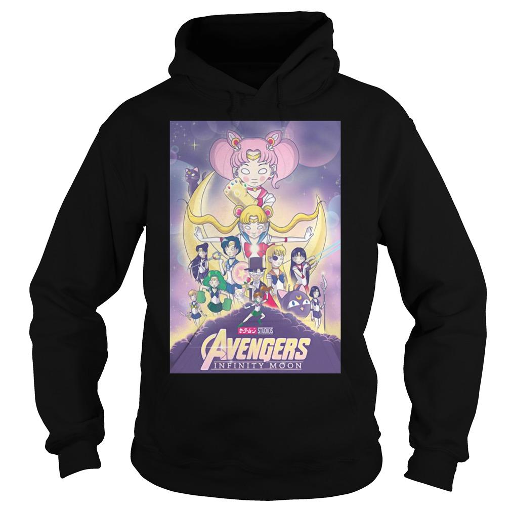 Avengers – Infinity War and Sailor Moon Mashup Hoodie