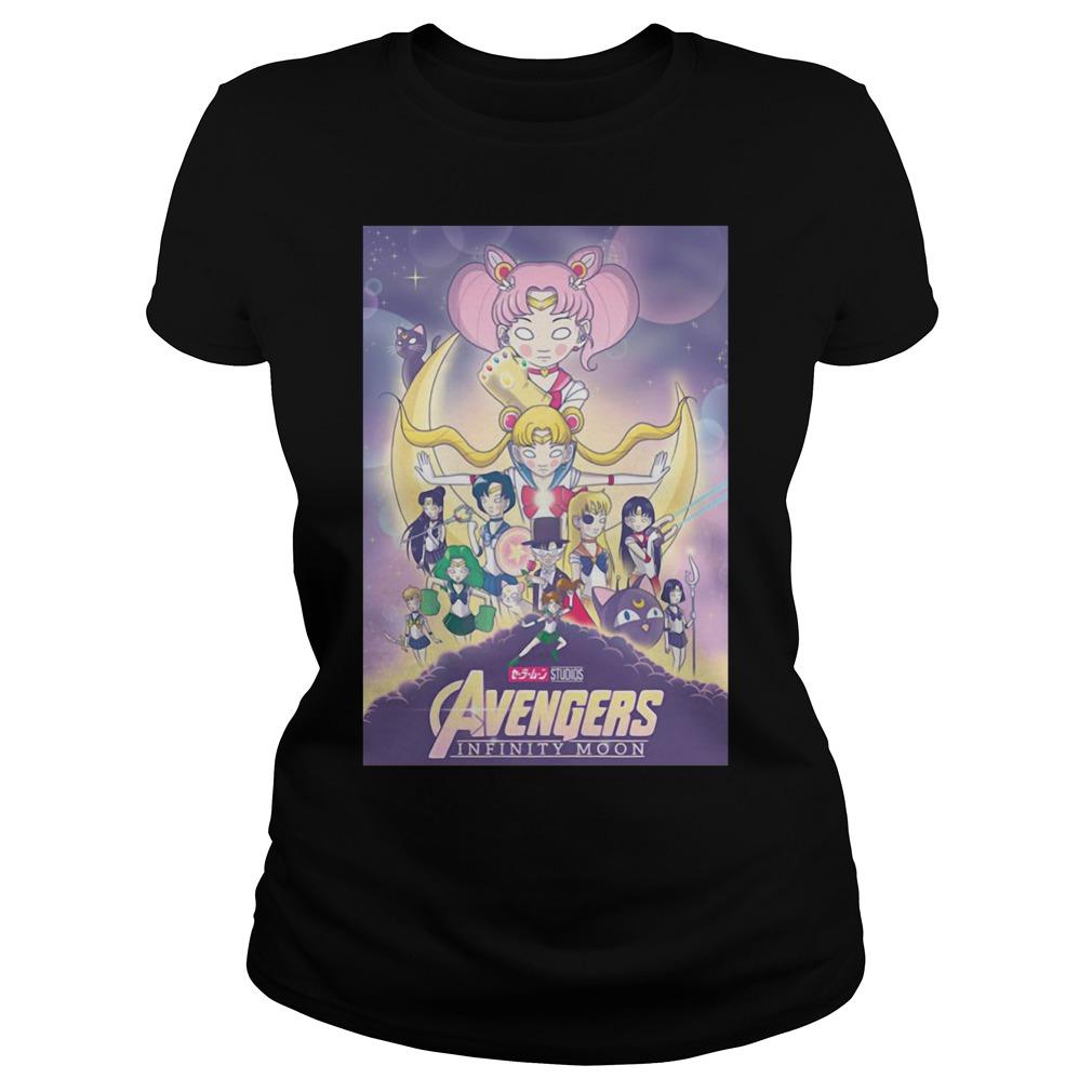 Avengers – Infinity War and Sailor Moon Mashup shirt