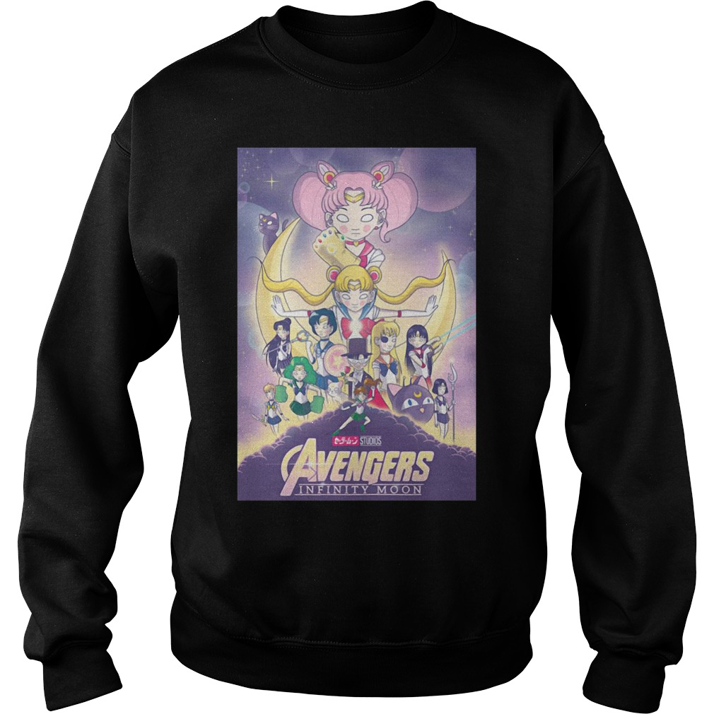 Avengers – Infinity War and Sailor Moon Mashup Sweater