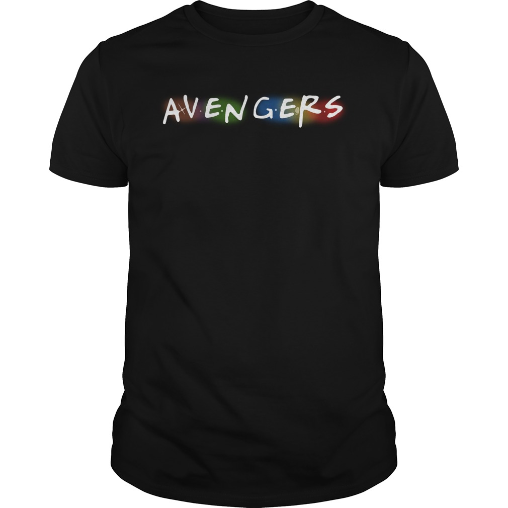 Marvel Avengers Infinity War shirt