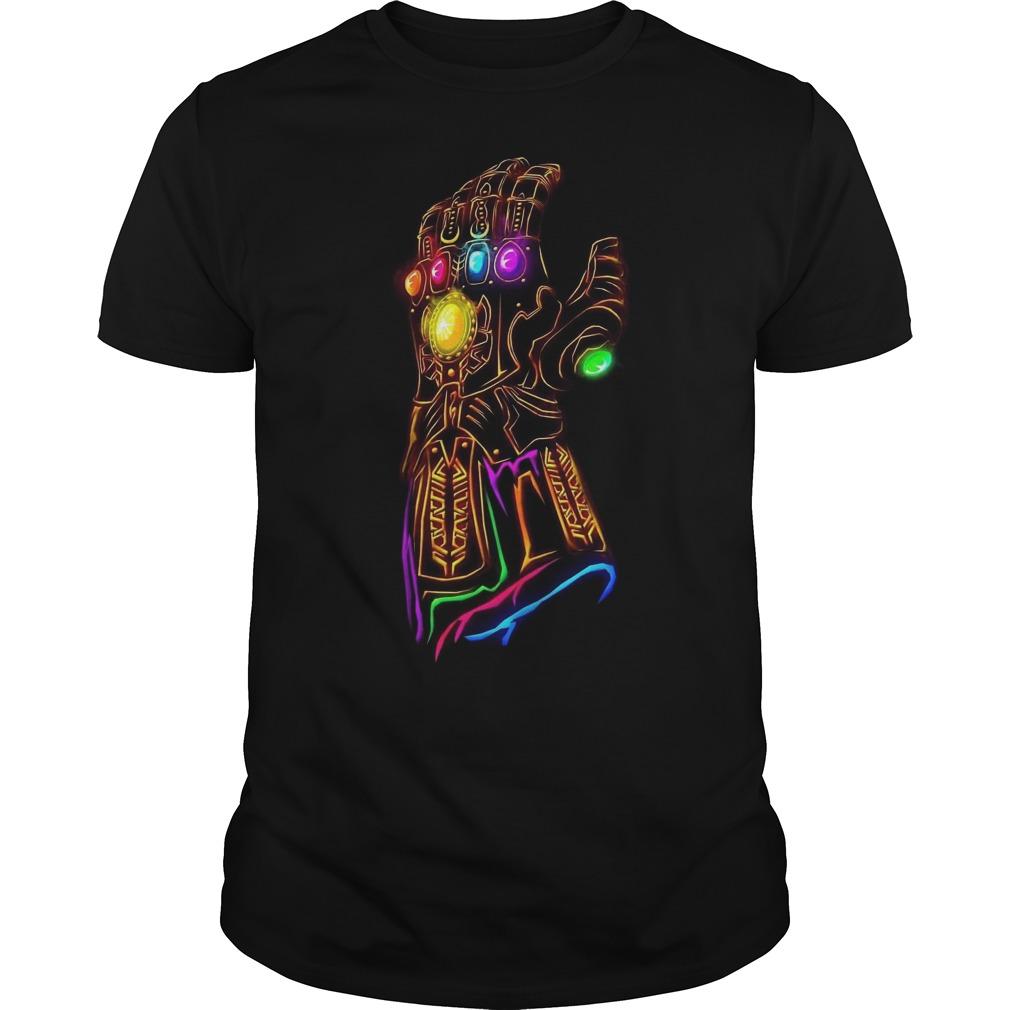 Avengers Infinity War – Thanos Hand shirt