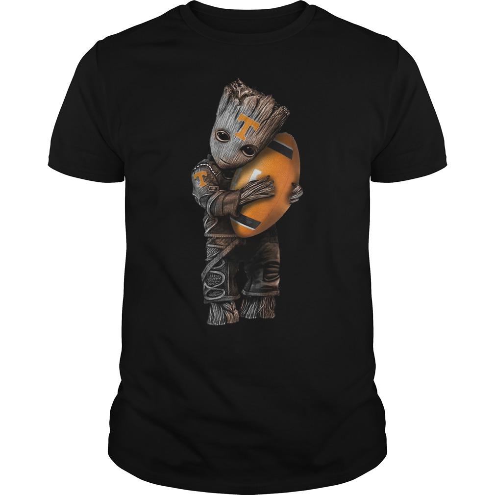Baby Groot hug Teague Lions shirt