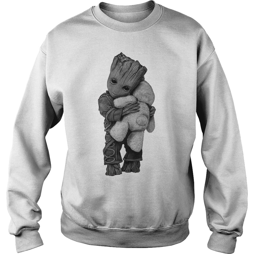 Baby Groot hug Teddy Bear Sweater