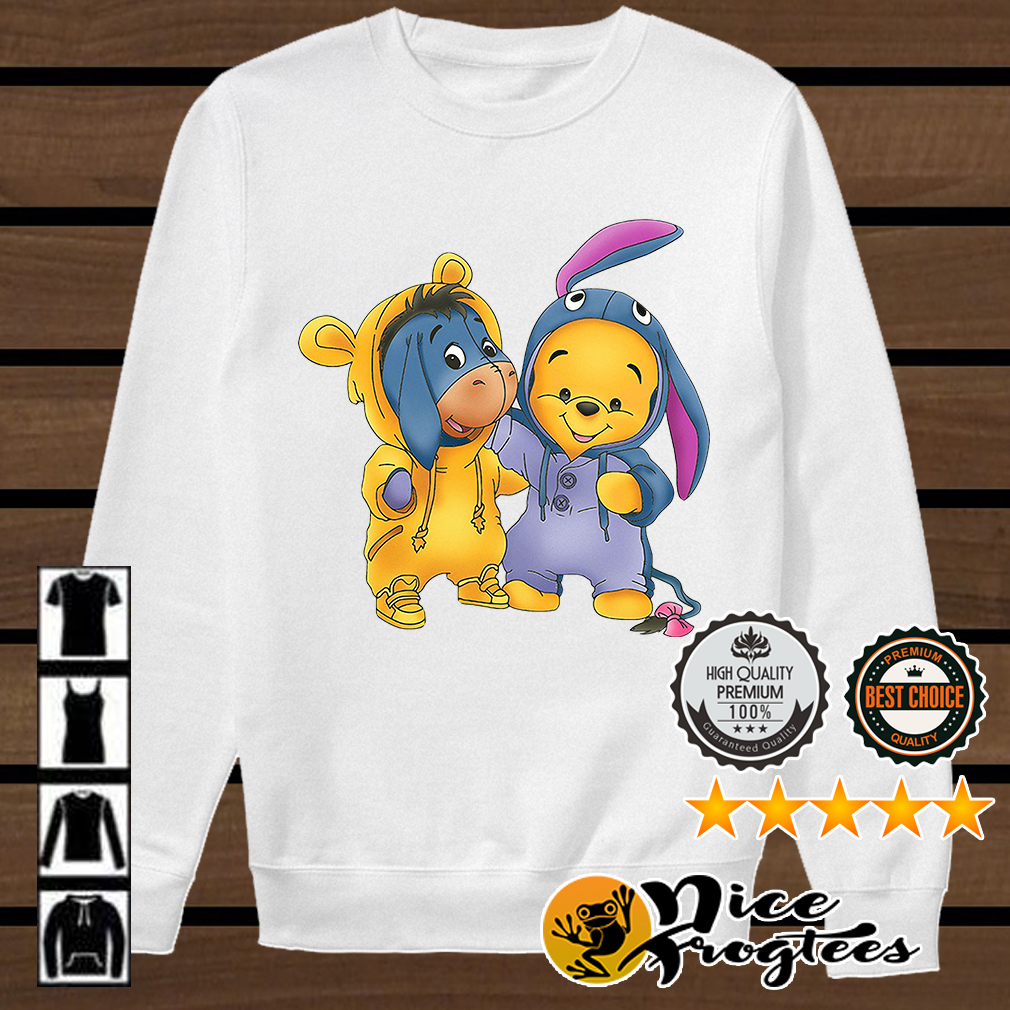 Baby Pooh and Eeyore Winnie the Pooh shirt