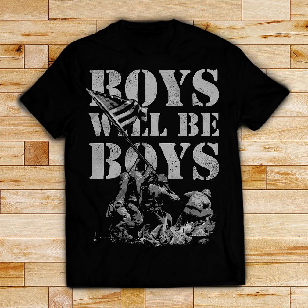 The Banzai Hunters boys will be boys shirt
