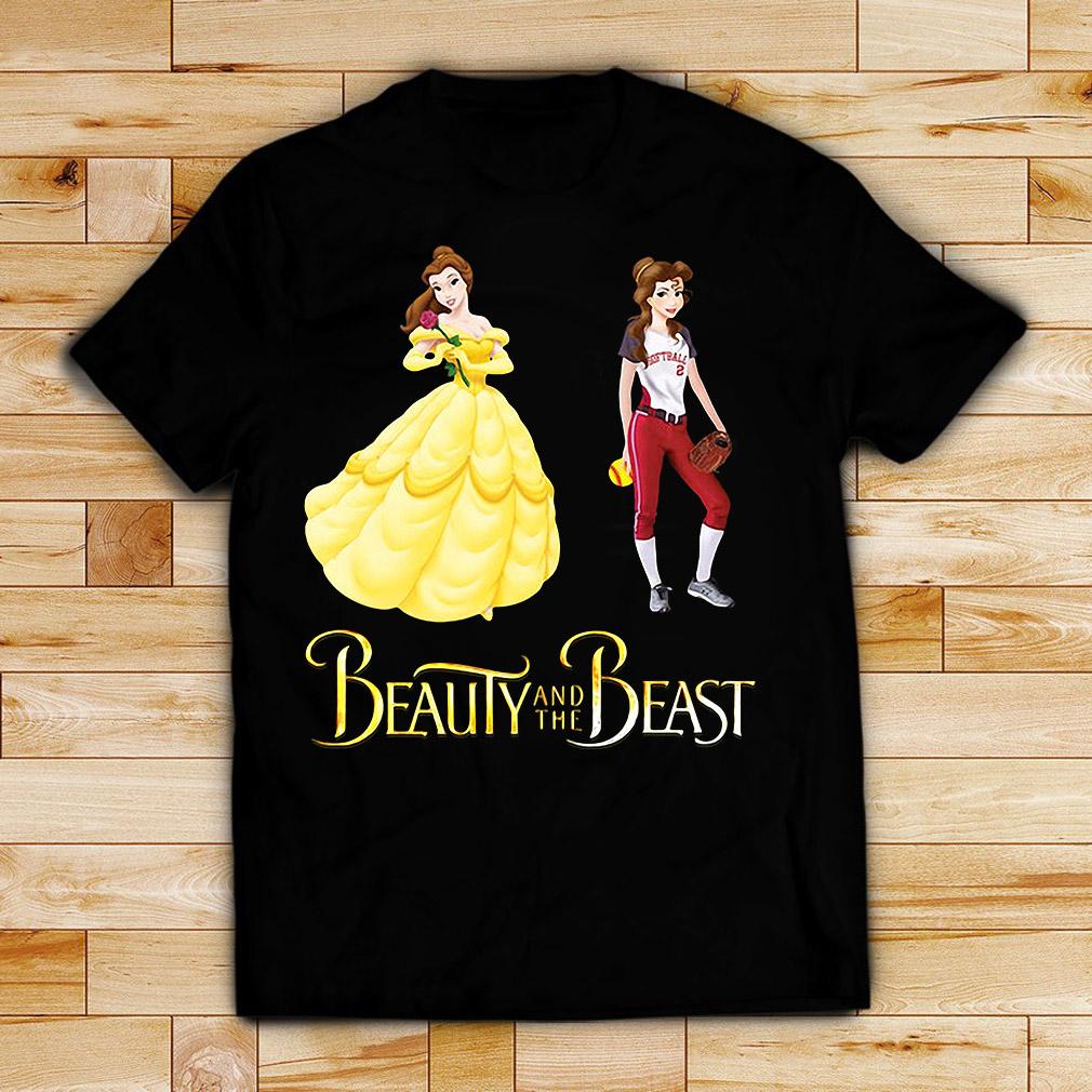 Beauty and the Beast Belle baseball 2 shirt