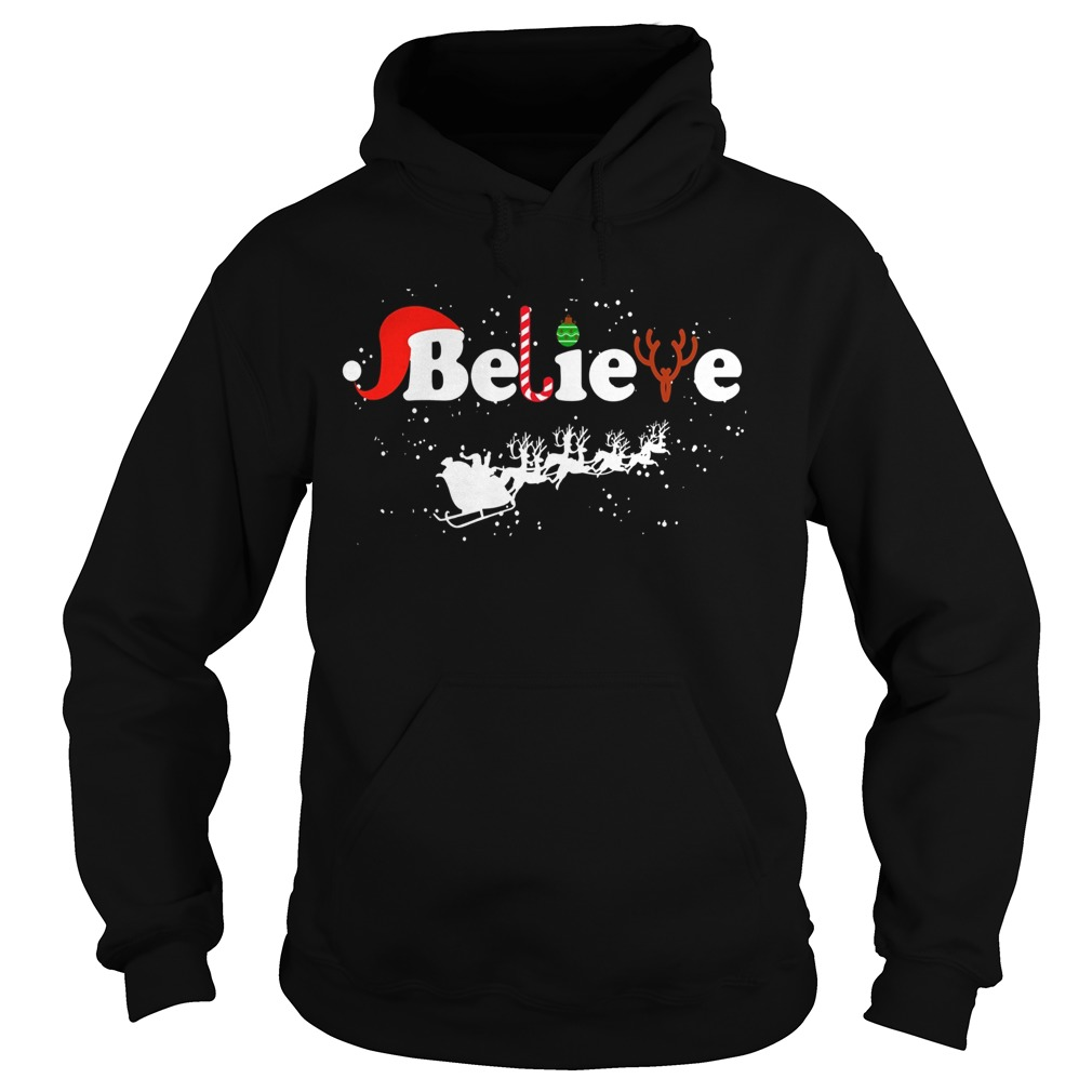 Believe in Santa Claus Christmas Hoodie