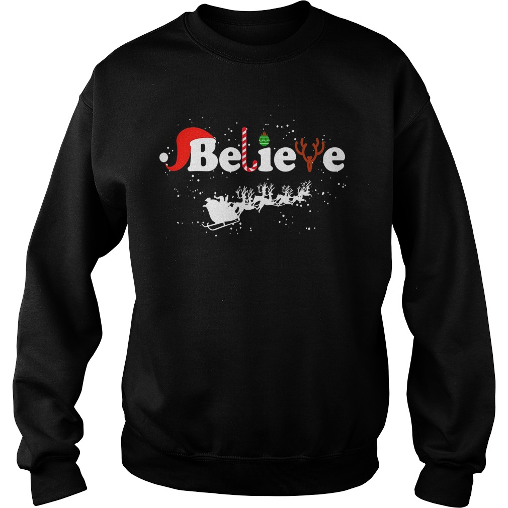 Believe in Santa Claus Christmas Sweater