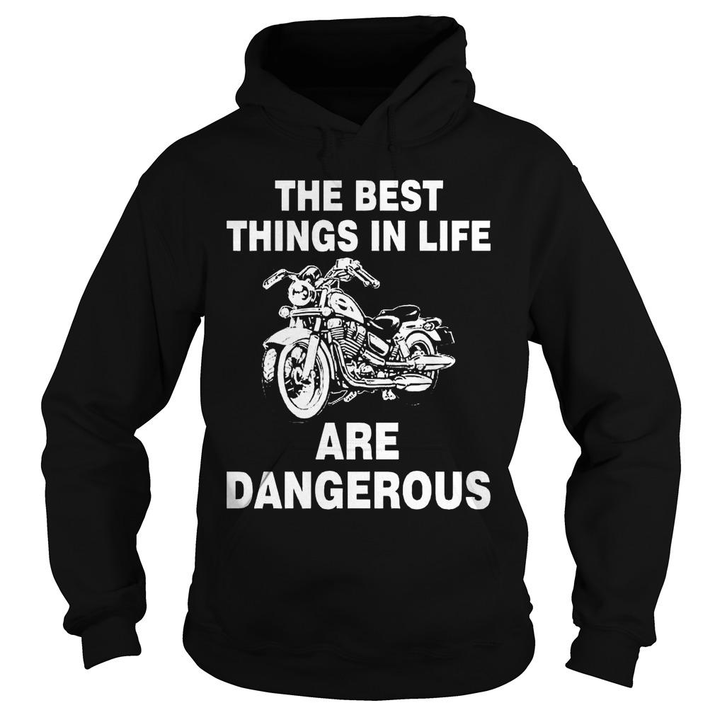 The best things in life are dangerous Hoodie