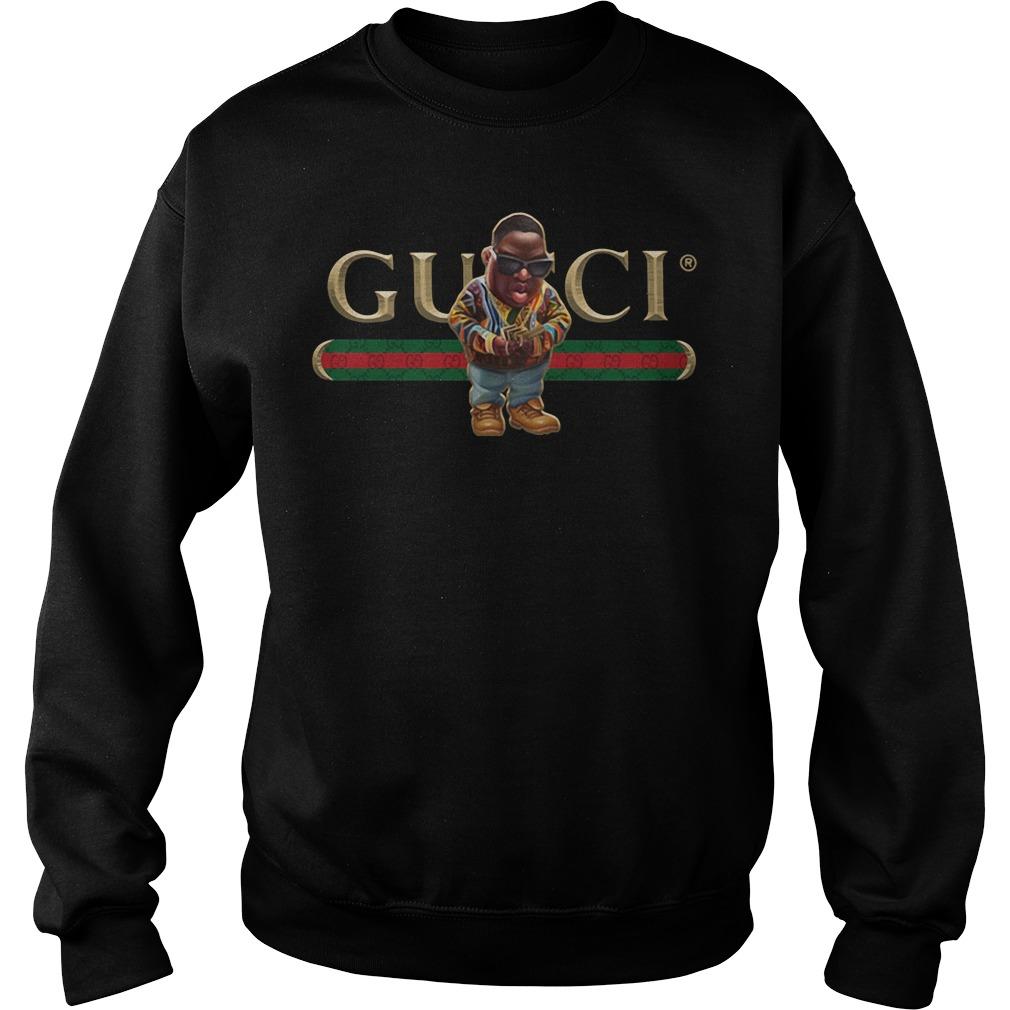 40c3b8da2 Biggie Gucci The Notorious B.I.G shirt, hoodie, sweater and v-neck t ...