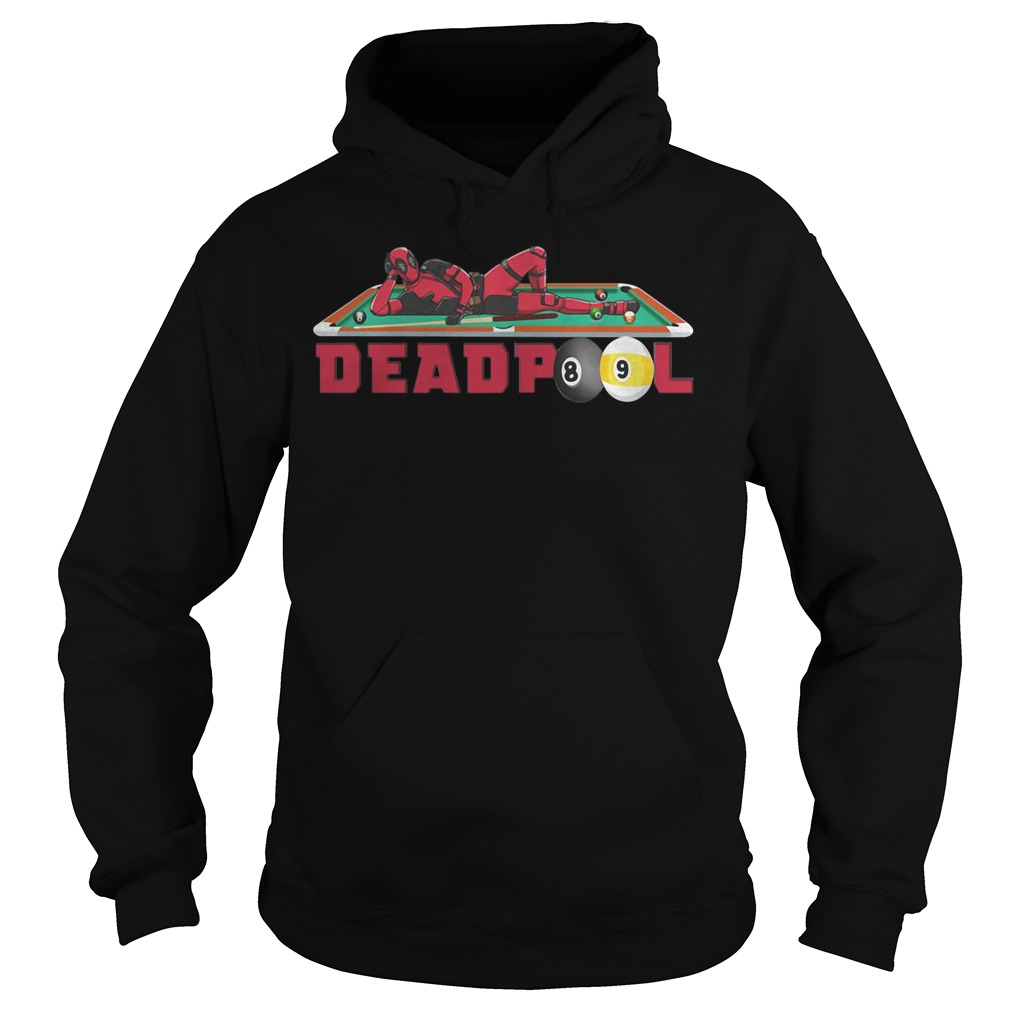 Billiard Deadpool Hoodie