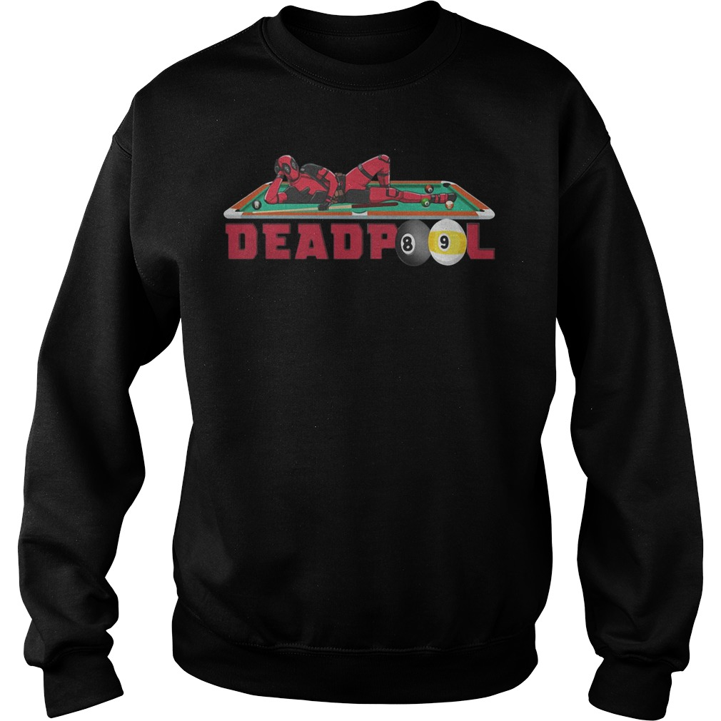 Billiard Deadpool Sweater