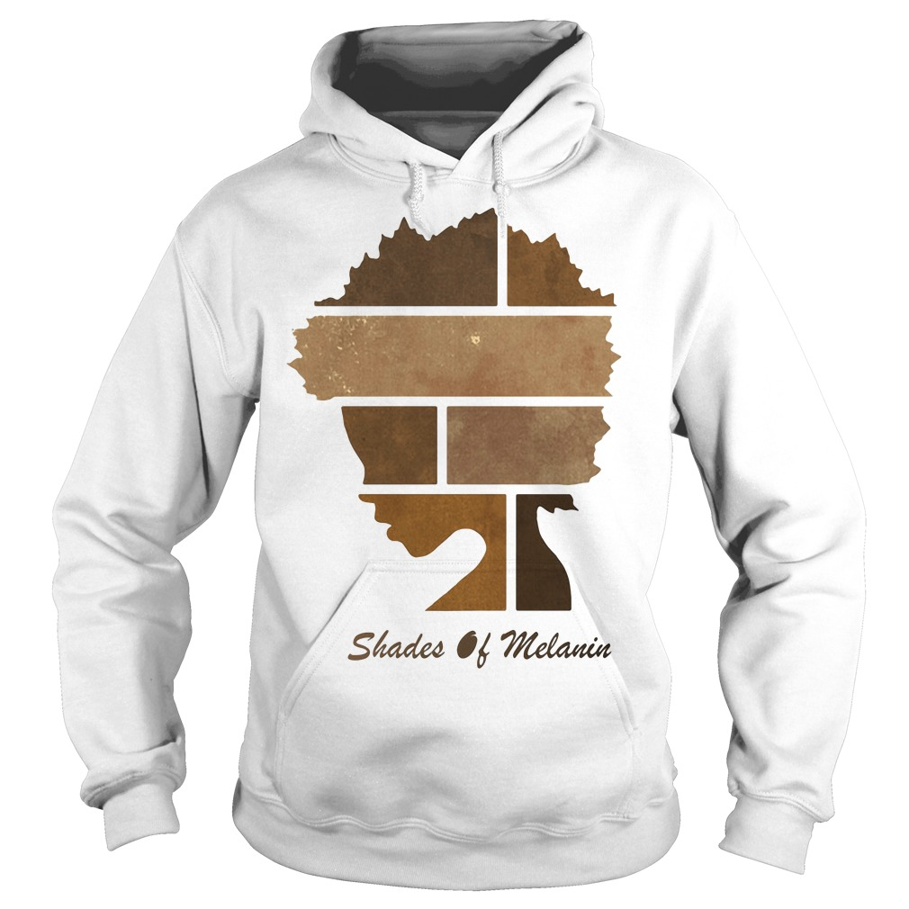 Black women shades of Melanin Hoodie