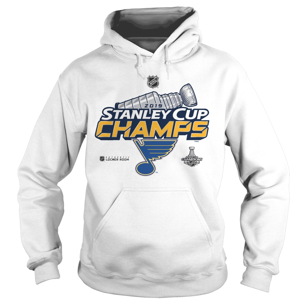 Blue Stanley Cup Champs 2019 Hoodie